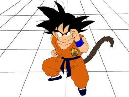 Young Goku by ShadowSabre