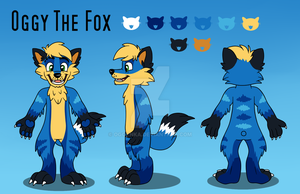 Oggy Reference sheet by Oggynka