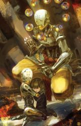 Zenyatta Overwatch Fan Art by anireal