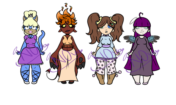 Girl Adopts ~3/4 OPEN~ by N0vaAd0pts