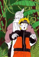 naruto and b by frecklesmile