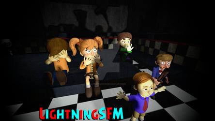 FNAF SFM - The Five Missing Children by lightningsfm