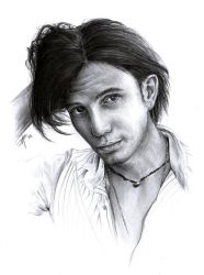 Jackson Rathbone Sketch by D17rulez