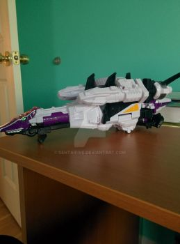 Plesio Zord (Alternate Space Ship Mode) by SentaiFive