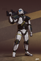 SWTOR Trooper by Blazbaros