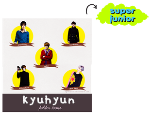 choi kyuhyum folder icons {REQUEST} by stopidd