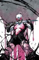 The Unbelievable Gwenpool She Venom symbiote pt9 by VENOMIZED-1