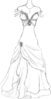 Masquerade Dress by Upon-a-RemStar