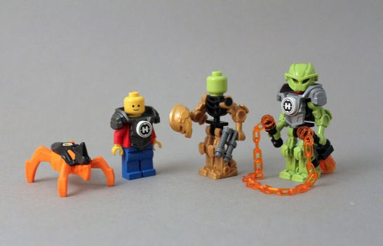 The Hero Factory Minifigure by exxtrooper