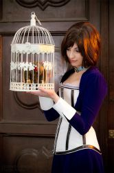 Cage or songbird? - Elizabeth - Bioshock Infinite by Shirokii