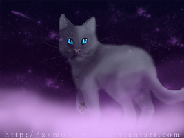Bluestar's Final Resting Place by TheMoonfall