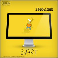 Bart Simpson- Wallpaper by SterekCreations