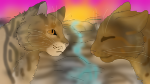 Leafpool and Mothwing by TheRealBramblefire