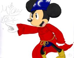 Sorcerer Mickey by SonicHearts