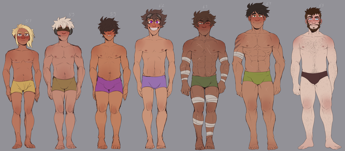 Oc Body Refs by Daxratchet