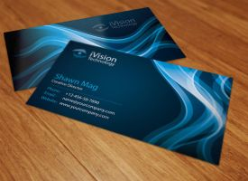 Stylish Business Cards by thearslan