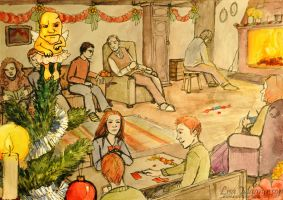 A Very Frosty Christmas by rawenna