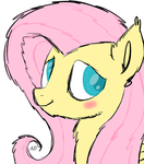 Sketch N2 FlutterShy [MY LITTLE PONY] by AD-Laimi