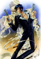 Nicohlas D. Wolfwood by RaetElgnis