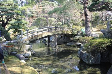 Kyoto Imperial Garden by InuTsume