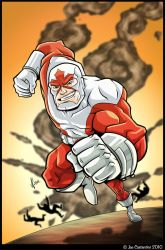 CAPTAIN CANUCK ART CONTEST by JoeCostantini