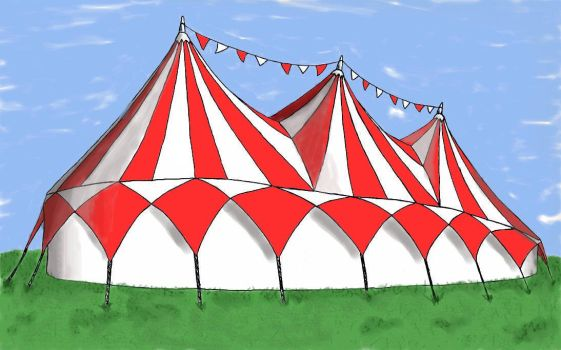 Circus Tent by Galsic