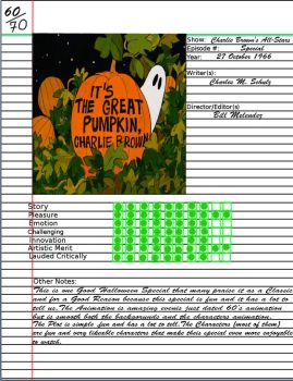 Admirable Notebook It's the Great Pumpkin Speacial by kouliousis