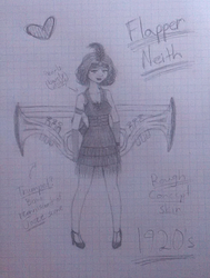 SMITE Neith - Roaring Twenties' Flapper by Harumii-chama