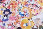 Sailor Moon Stickers by LonelyFullMoon