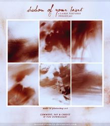 shadow of your heart: textures set by inconditionally