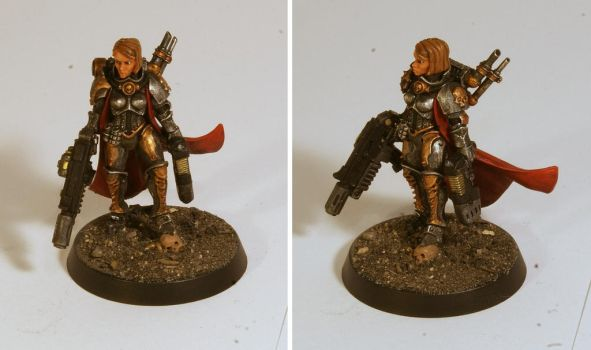 Imperial Inquisitor by half-halfling