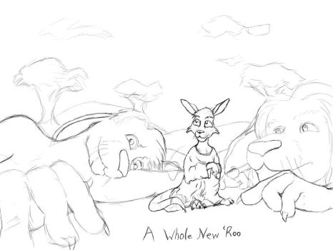 A Whole New 'Roo - Pencils by TermsOfService