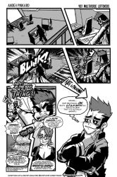 Shonen Punk! #907 multiverse leftovers by andehpinkard