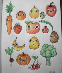5 a day fruits and vegetables by Yukikko49