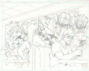 Book 2 Transient One Cover Pencils by jrieman
