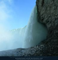 Behind the Falls by kuschelirmel-stock