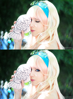 Sheryl Nome - Close up by sophie-art