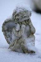 Angel statue stock 13 by Malleni-Stock