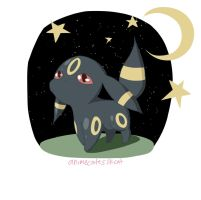 Umbreon by AnimeCuteSilkCat