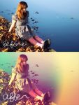 vintage gradient action by sweet-reality-xo