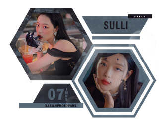 Photopack 4927 // Sulli by xAsianPhotopacks