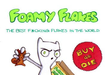 Foamy Flakes by pico-pito