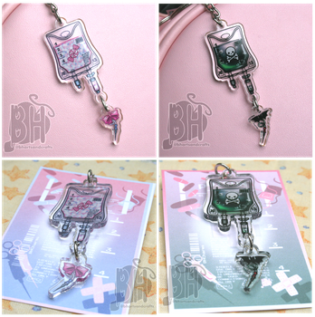 Candy and Poison IV Charms by Nikicus