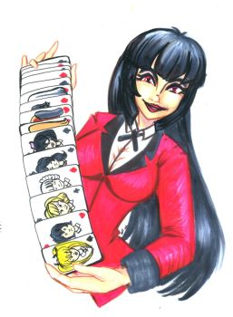 Kakegurui: Let's make a bet by luxshine