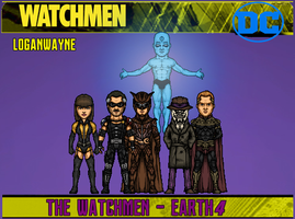 The Watchmen (Earth-4) by LoganWaynee