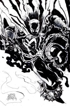 Spawn Daily Sketch by RyanStegman