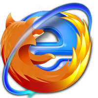 Mozilla Internet Explorer Icon by EyesOfARaven