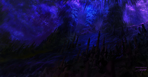 Glimmer Cave by Chillay