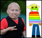 Verne Troyer as Julio by iamnater1225