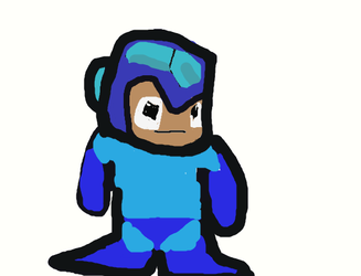 megaman by ironmanof